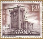 Sellos de Europa - España -  Castillos de España - Fuensaldaña en Valladolid