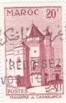 Stamps Morocco -  Mahakma de Casablanca