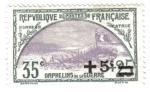 Sellos de Europa - Francia -  Trinchera