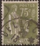 Stamps France -  Alegoría de la Paz  1932  75 cents