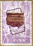 Stamps Spain -  Centenario Fundacion de Leon - Plano de Leon