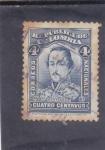 Stamps : America : Colombia :  Francisco de Paula Santander-militar