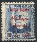 Sellos del Mundo : Europa : España : ESPAÑA_SCOTT 10L17 EMISION PATRIOTICA MALAGA. $2,5