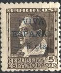 Sellos del Mundo : Europa : España : ESPAÑA_SCOTT 11LB5 EMISION PATRIOTICA ORENSE. $0,65