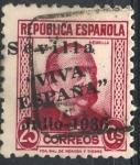 Sellos del Mundo : Europa : España :  ESPAÑA_SCOTT 14L7 EMISION PATRIOTICA SEVILLA. $1,25