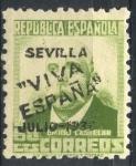 Stamps : Europe : Spain :  ESPAÑA_SCOTT 14L24 EMISION PATRIOTICA SEVILLA. $0,9
