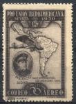 Stamps : Europe : Spain :  ESPAÑA_SCOTT C54 SIDAR DE MEXICO Y MAPA SUDAMERICA. $1,25