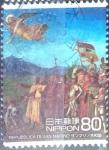 Sellos de Asia - Japón -  Scott#3217d intercambio 0,90 usd  80 y. 2010