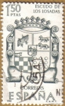 Stamps Spain -  Escudo de los Losadas - Forjadores de America
