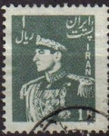 Sellos de Asia - Irán -  IRAN 1951 Scott 956 Sello Retrato Militar Mohammad Reza Shah Pahlavi Usado