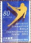 sellos de Asia - Japón -  Scott#3378 intercambio 0,90 usd  80 y. 2011