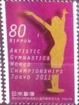 Stamps Japan -  Scott#3377 intercambio 0,90 usd  80 y. 2011