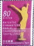 sellos de Asia - Japón -  Scott#3377 intercambio 0,90 usd  80 y. 2011