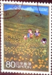 Stamps Japan -  Scott#3124c intercambio 0,60 usd  80 y. 2009