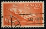 Sellos de Europa - España -  ESPAÑA_SCOTT C150.01 AEROPLANO Y CARABELA. $0,2