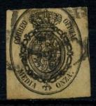 Stamps Spain -  ESPAÑA_SCOTT O5 ESCUDO DE ARMAS. $1,75