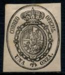 Sellos de Europa - España -  ESPAÑA_SCOTT O6 ESCUDO DE ARMAS. $1,50