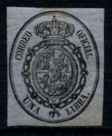Stamps : Europe : Spain :  ESPAÑA_SCOTT O8 ESCUDO DE ARMAS. $14,5