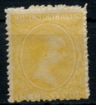 Stamps : Europe : Spain :  ESPAÑA_SCOTT O9 REY ALFONSO XIII. $10