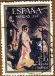 Stamps Spain -  NAVIDAD - Nacimiento de Fiorina Urbino - El Barocci