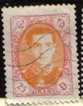 Sellos de Asia - Irán -  IRAN 1957 Scott 1084 Sello Usado Mohammad Shah Reza Pahlavi Stamp