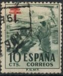 Stamps : Europe : Spain :  ESPAÑA_SCOTT RA33.03 NIÑO EN PLAYA. $0,2