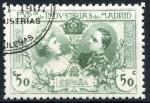 Stamps : Europe : Spain :  ESPAÑA_EDIFIL SR4 EXPOSICION DE INDUSTRIAS MADRID. $8