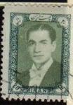 Sellos de Asia - Irán -  IRAN 1957 Scott 1094 Sello Usado Mohammad Shah Reza Pahlavi Stamp