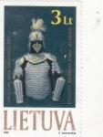Sellos del Mundo : Europa : Lituania :  armadura medieval