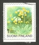 Sellos de Europa - Finlandia -  1448 - Flor primula veris