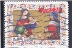 Stamps Ireland -  Navidad