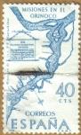 Stamps Spain -  Misioneros en el Orinoco - Forjadores de America