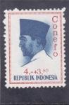Stamps Indonesia -  Presidente Sukarno- Conefo
