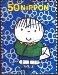 Stamps Japan -  Scott#2781 intercambio 0,35 usd 50 y. 2001