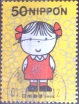 Stamps Japan -  Scott#2782 intercambio 0,35 usd 50 y. 2001