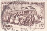 Sellos del Mundo : Europa : Senegal :  FERROCARRIL