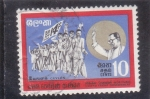 Sellos de America - Sri Lanka -  Manifestación