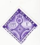 Stamps : Africa : Niger :  Cruz D,Agadez
