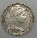 monedas del Mundo : America : Colombia :  1952 error 1 centavo
