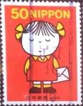 Stamps Japan -  Scott#2824 fjjf intercambio 0,65 usd 50 y. 2002
