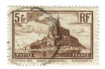 Sellos de Europa - Francia -  Monte Saint Michel