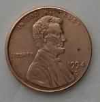 monedas del Mundo : America : Estados_Unidos :  1994 D one cent