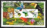 Stamps Germany -  1699 - Fauna tropical