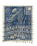 Sellos de Europa - Francia -  Exp. Colonial Int. de Paris