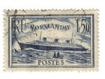 Sellos de Europa - Francia -  Normandía