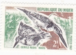 Stamps : Africa : Niger :  ave-ceryle rudis