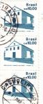 Stamps Brazil -  Iglesia de Sao Lorenço dos indios