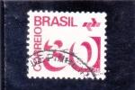 Stamps : America : Brazil :  CIFRAS