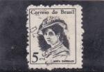 Stamps : America : Brazil :  ANITA GARIBALDI- heroina
