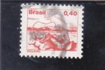 Stamps Brazil -  vaquero